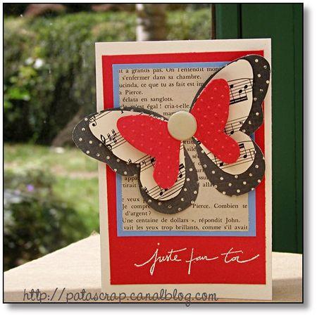Carte grands papillons